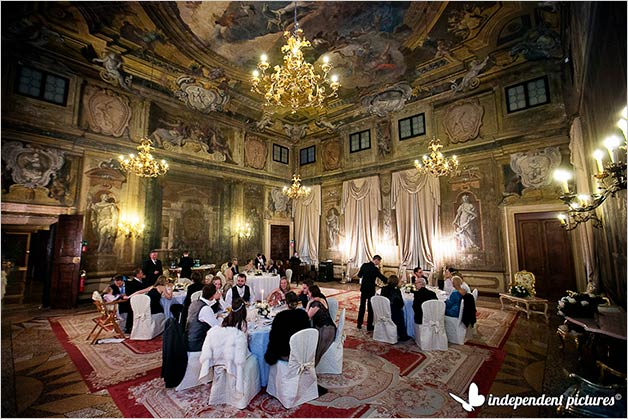 Venetian wedding receptions