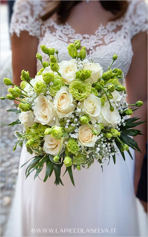 Bridal bouquet Lake Orta
