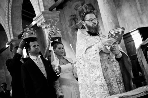Orthodox ceremony in Venice