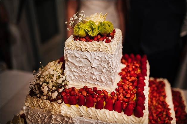 Wedding cake Lake Orta