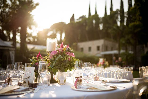 wedding reception venue Lake Garda