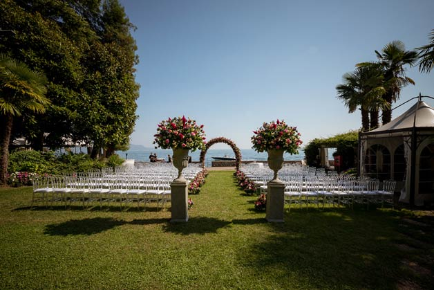 Wedding ceremony in Gardone Riviera