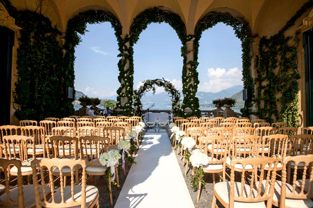 Loggia Durini at Villa del Balbianello