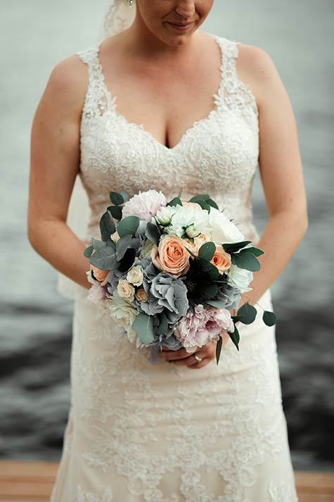 bridal bouquet in Stresa