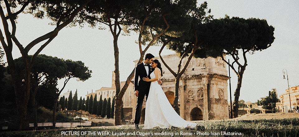 Layale & Ozgen's wedding in Rome