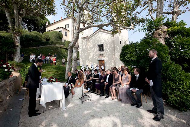 Star Wars themed wedding on Lake Como