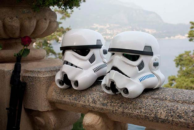 Star Wars wedding at Villa Balbianello