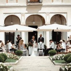 Boho Style Microwedding on Lake Orta