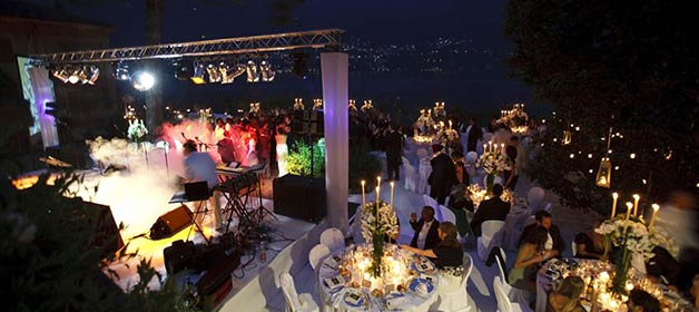 VIP wedding on Lake Como