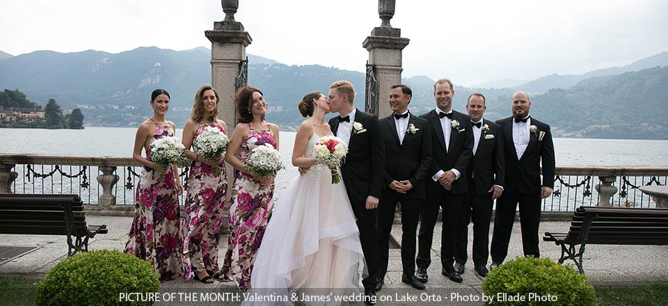Orta Lake wedding