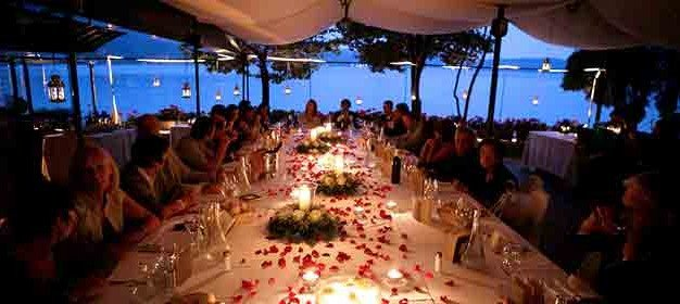 Wedding receptions on St. Julius Island: best shots of latests events!