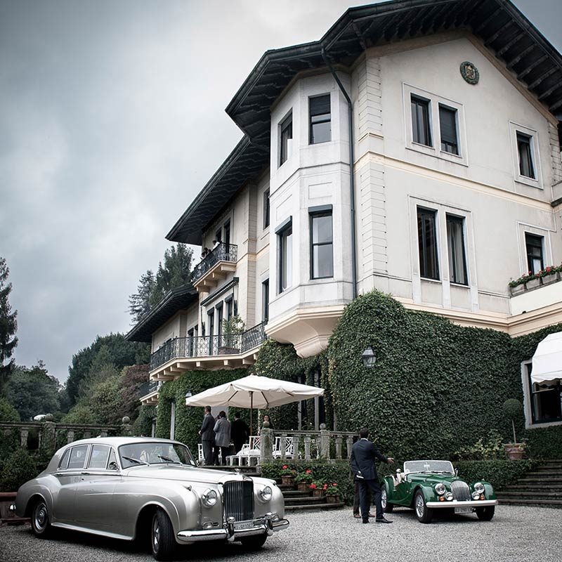 Vintage Wedding Cars Rental in Italy