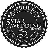Featured on 5 Star Wedding