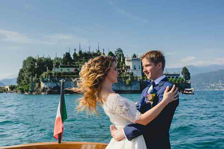 Ukrainian wedding on Lake Maggiore Italy