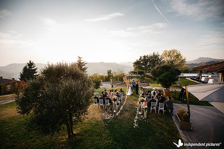 Autumn Country Wedding in Italy
