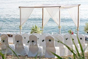 beach wedding in Italy