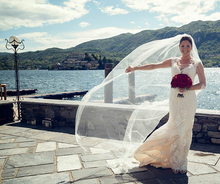 Chic Wedding on Lake Orta