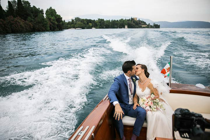 Isola del Garda wedding Lake Garda