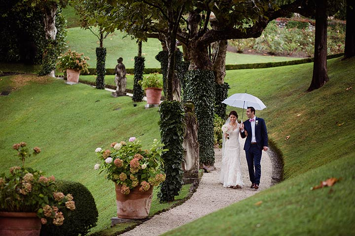 Lake Como intimate wedding
