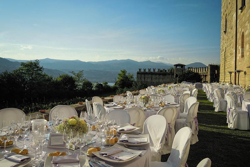 Wedding venues on Lombardy side of Lake Maggiore