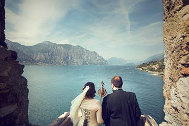 Medieval inspired Wedding in Malcesine