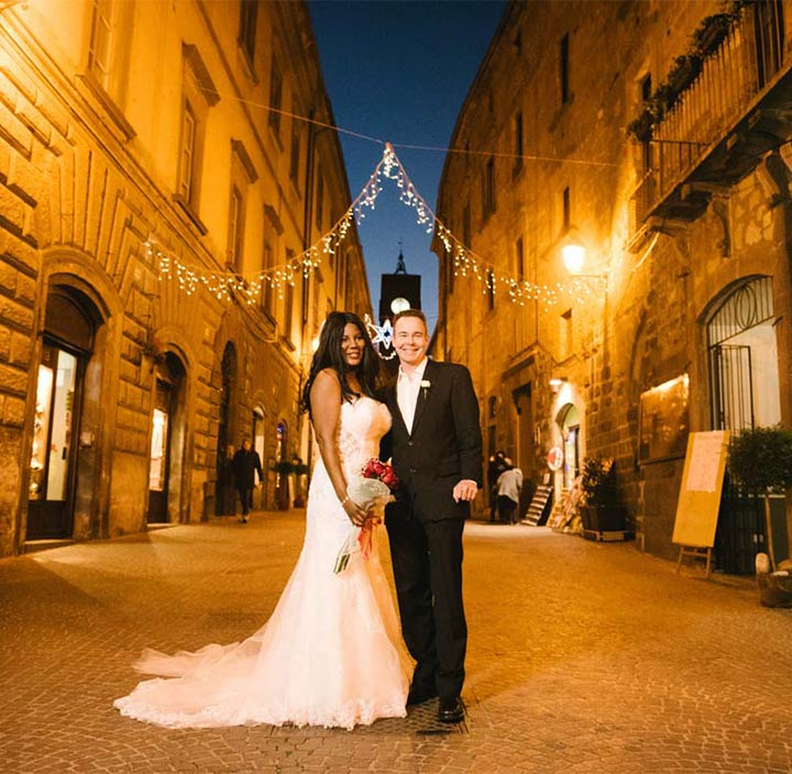 Orvieto intimate wedding