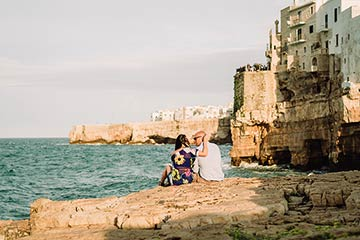 Getting married in Polignano a Mare