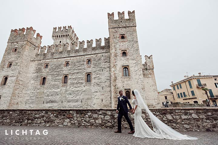 catholic wedding in Sirmione