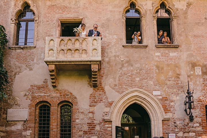 Verona intimate wedding