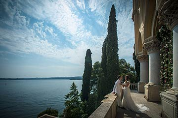 wedding on Lake Garda