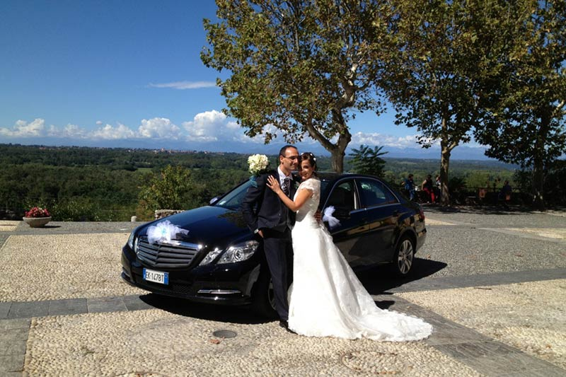 GC AUTO vintage car rental for wedding in Italy