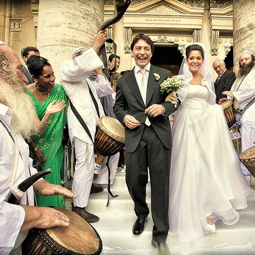 Jewish Wedding Ceremony In Rome