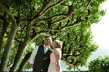Romantic Elopement on Lake Como