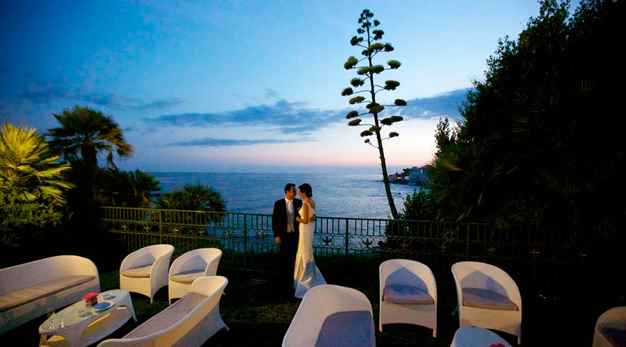 Seaside weddings in Italy