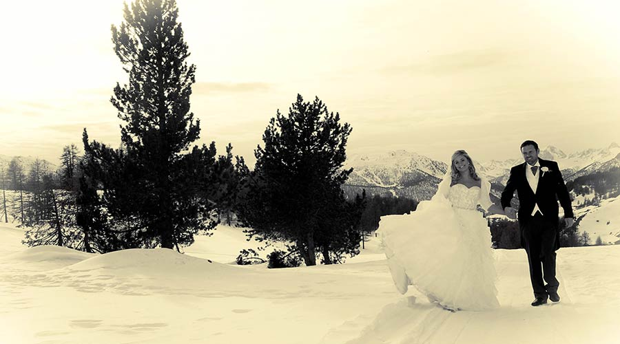 winter wedding in Italy