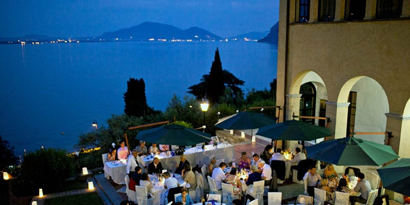 castle wedding on island Montisola lake Iseo