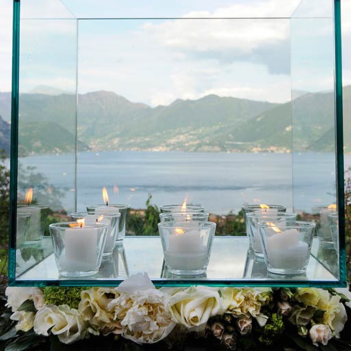 Lake Iseo Wedding reception