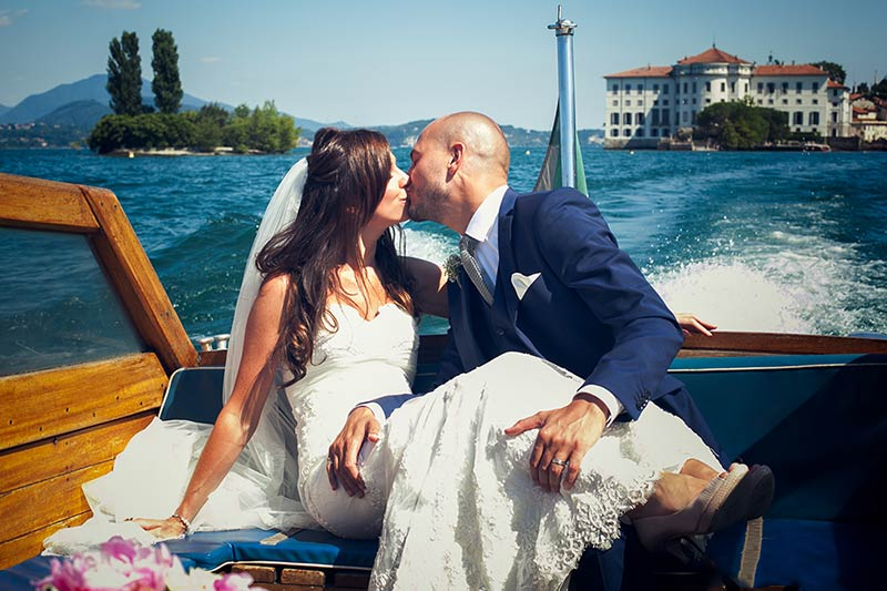 wedding on Borromean Islands Lake Maggiore