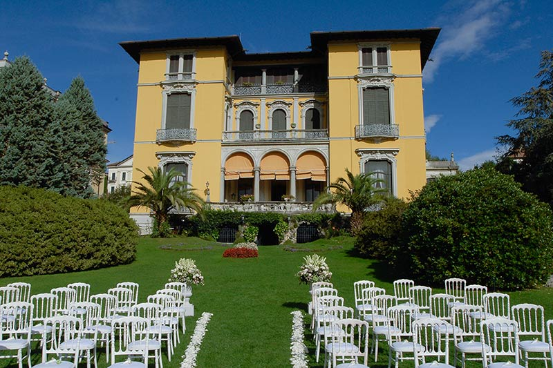 Villa Rusconi weddings Lake Maggiore
