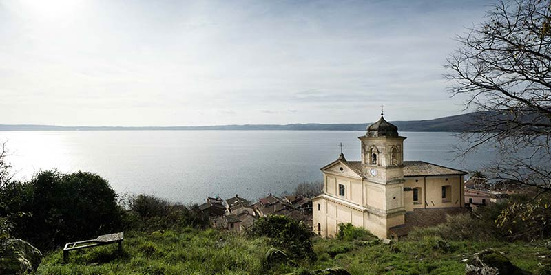 catholic wedding in Trevignano lake Bracciano