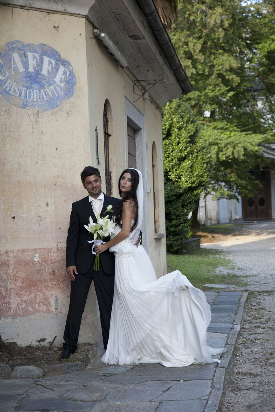 wedding lake Orta
