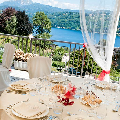 LE BETULLE restaurant panoramic restaurant Lake Orta