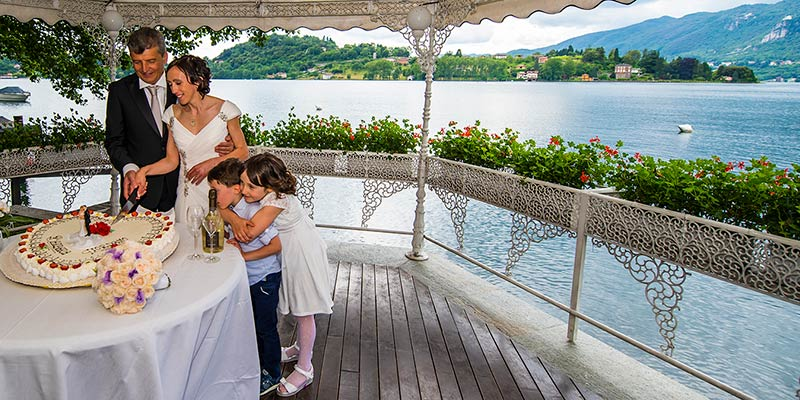 HOTEL L'APPRODO wedding reception Lake Orta