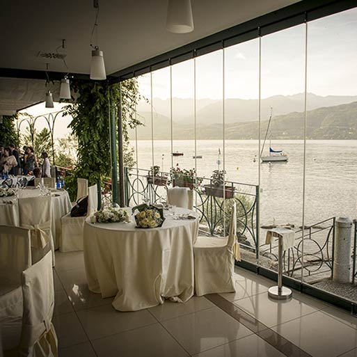 HOTEL RESTAURANT BELVEDERE wedding receptions by the shores of Lake Maggiore