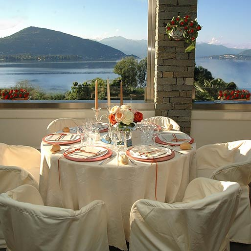 HOTEL RESTAURANT CONCA AZZURRA wedding receptions by the shores of Lake Maggiore