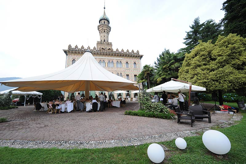 wedding reception Villa Crespi