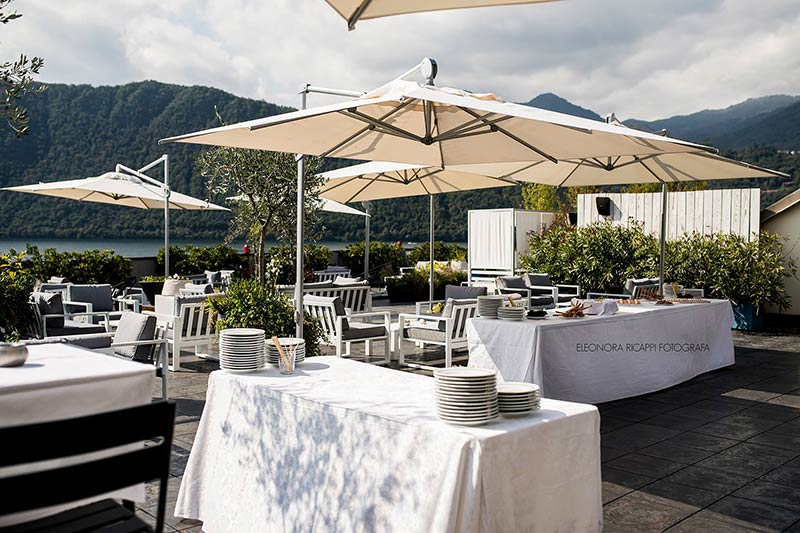 wedding reception Giardinetto restaurant Lake Orta