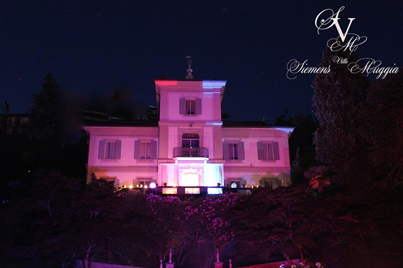 wedding reception at Villa Muggia Stresa Lake Maggiore