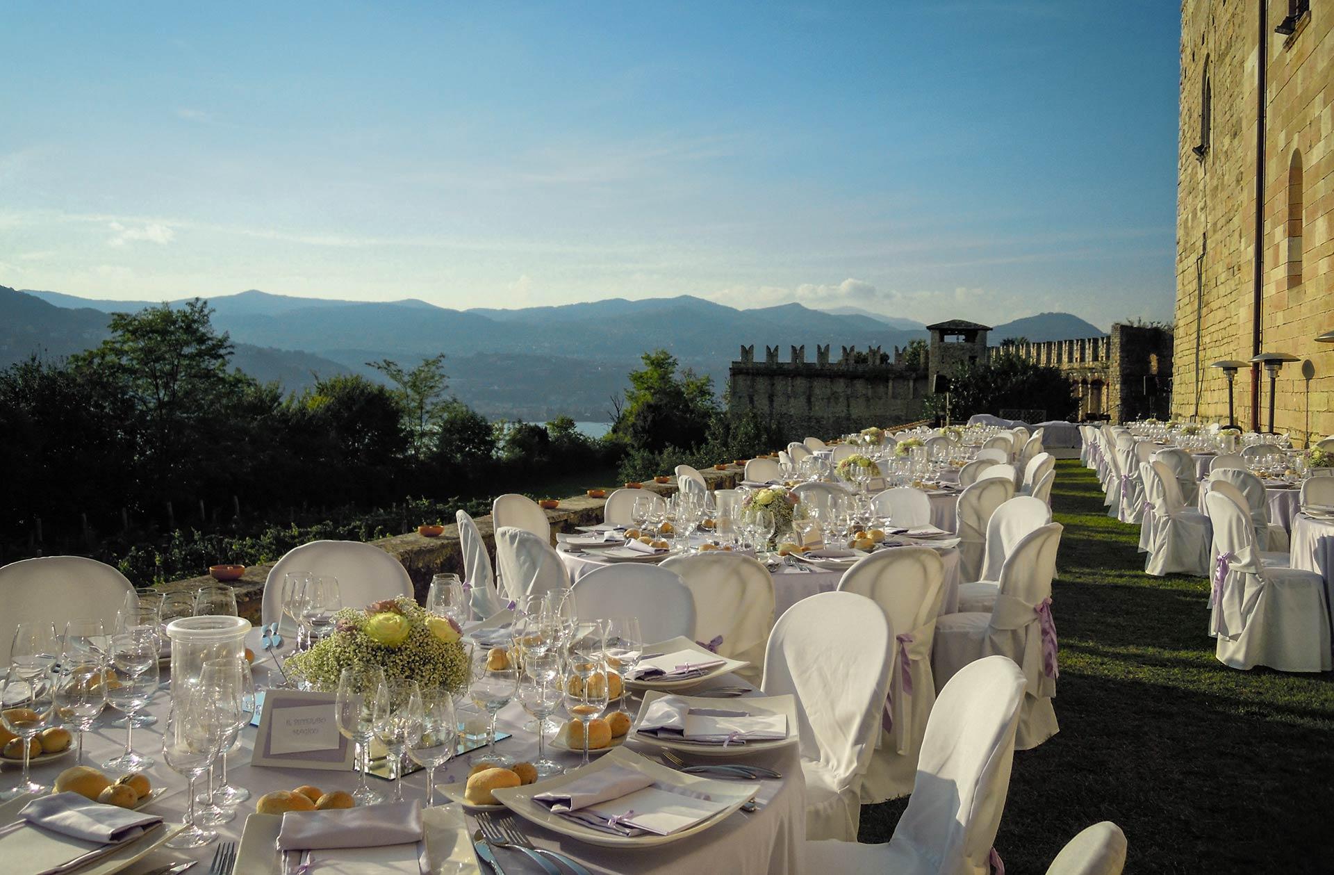 Wedding At Rocca Di Angera Castle Overlooking Lake Maggiore