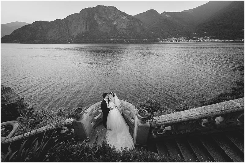 wedding reception VILLA DEL BALBIANELLO lake Como